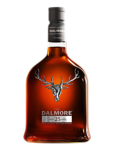 The Dalmore 25 Year Old Scotch Whisky 750ml