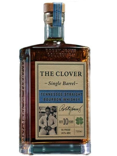 The Clover Aged 10 Years Single Barrel Tennessee Bourbon 750ml