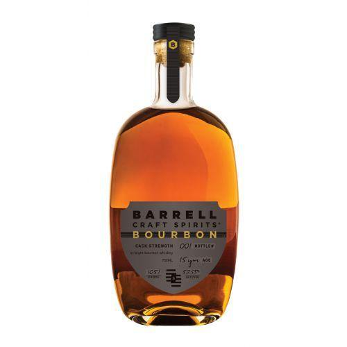 Barrell Craft Spirits 15 Year Old Cask Strength Bourbon Whiskey 750ml