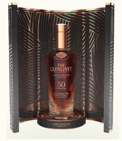The Glenlivet Aged 50 Years Winchester Collection Vintage 750ml