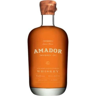 Amador 10 Barrel Bourbon Whiskey Aged 12 Years 750ml