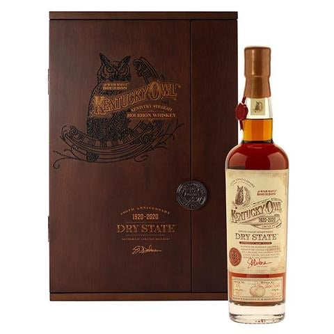 Kentucky Owl Dry State 100th Anniversary Release Bourbon 750ml