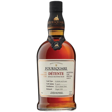 Foursquare Détente Aged 10 Year Single Blended Rum 750ml
