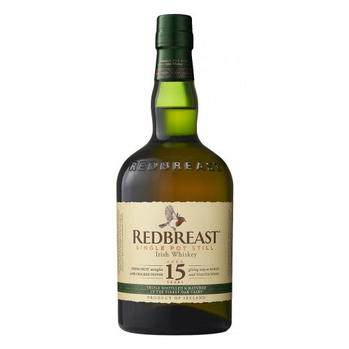 Redbreast Aged 15 Years Irish Whiskey 750ml