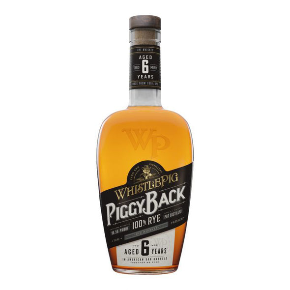 WhistlePig Aged 6 Years Piggyback Rye 750ml