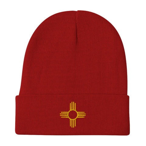 Zia - Embroidered Beanie