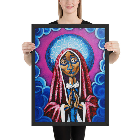 Virgen - Framed Poster