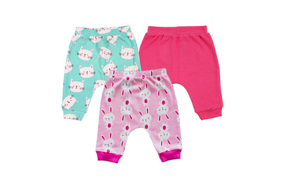 Feathery Pajamas – Pack of 3