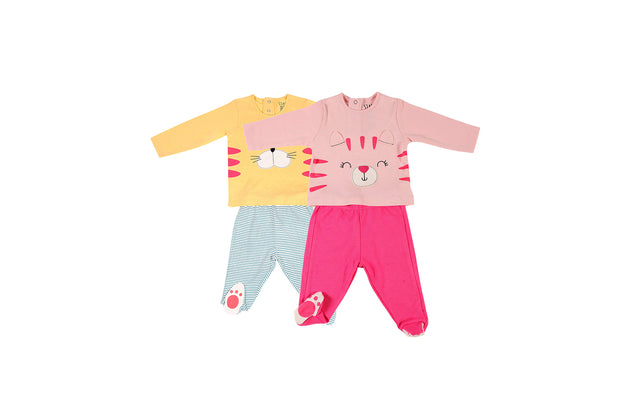 Paw'ed Pajama Set – Pack of 2