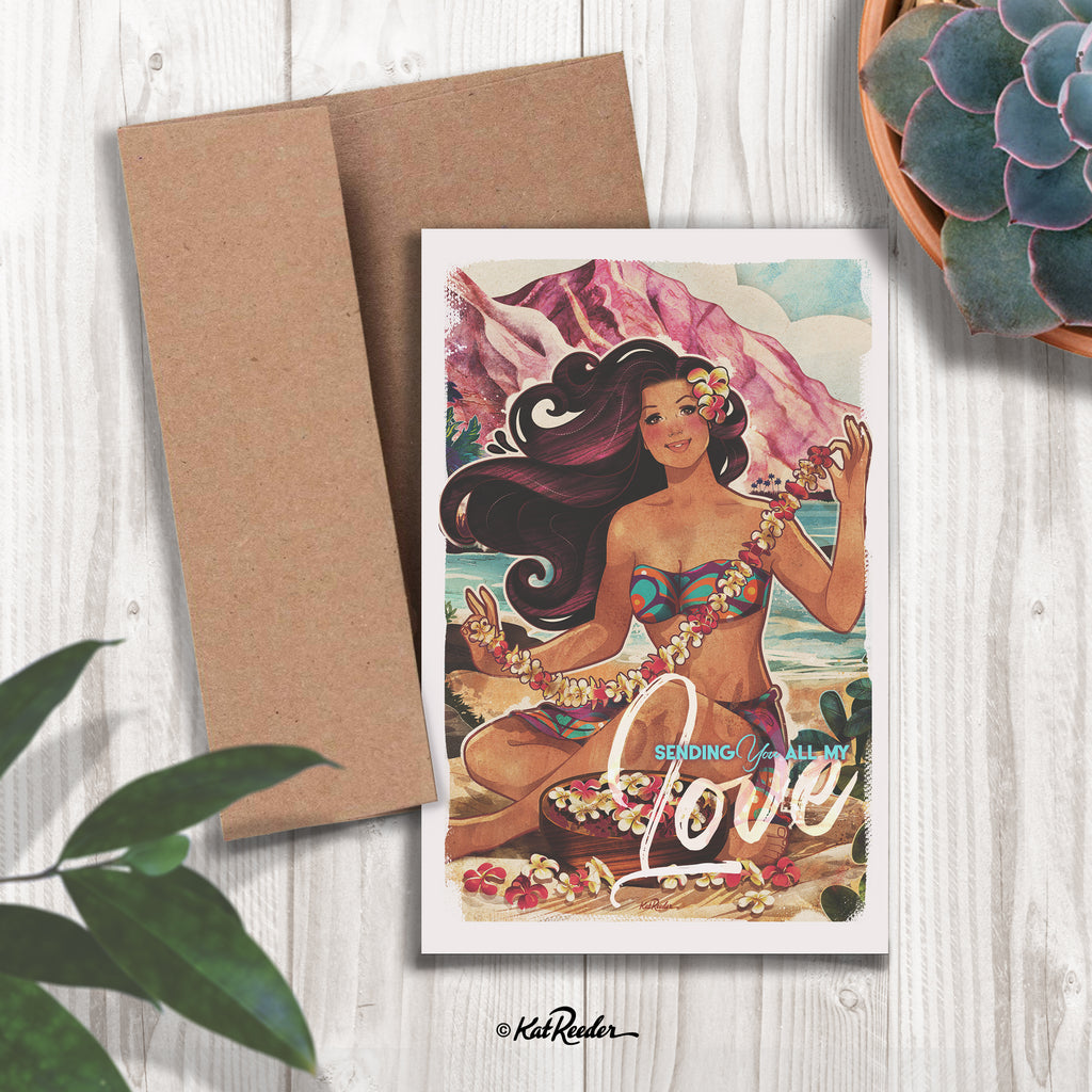 Love - 5x7 Greeting Card