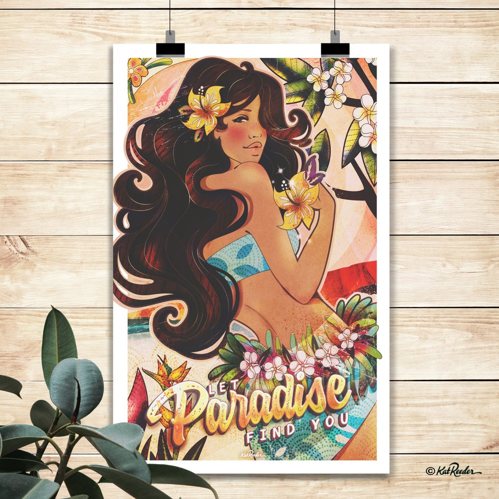 Enchanted Paradise - 11x17 poster