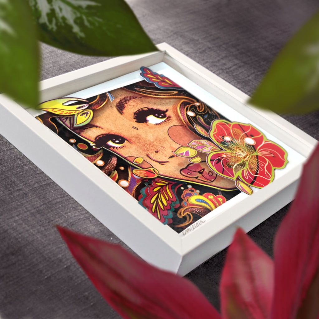 Lost in Paradise-3D Pop Shadow Box