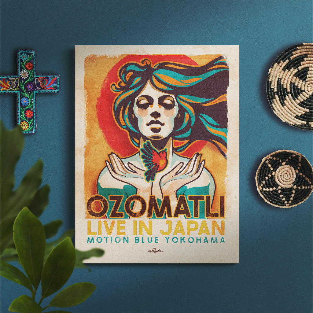 18x24 Limited Edition Ozomatli Japan Tour Reissue Poster