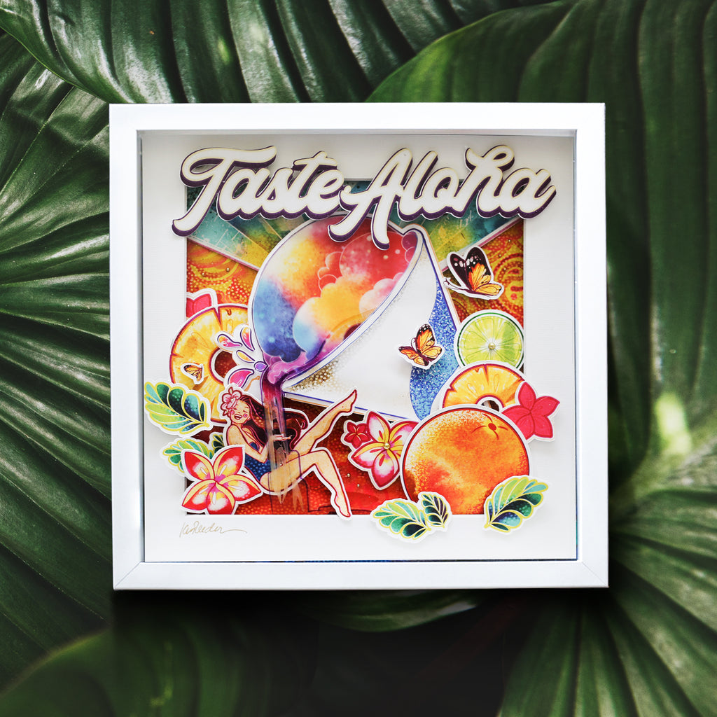 Taste Aloha-3D Pop Shadow Box