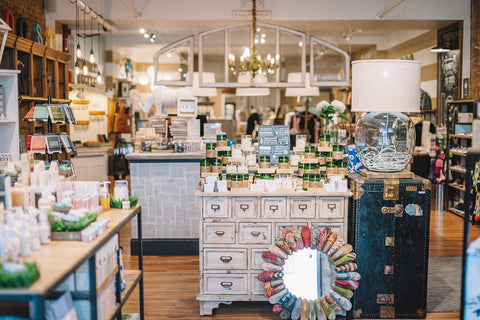 Green Roost Store Interior