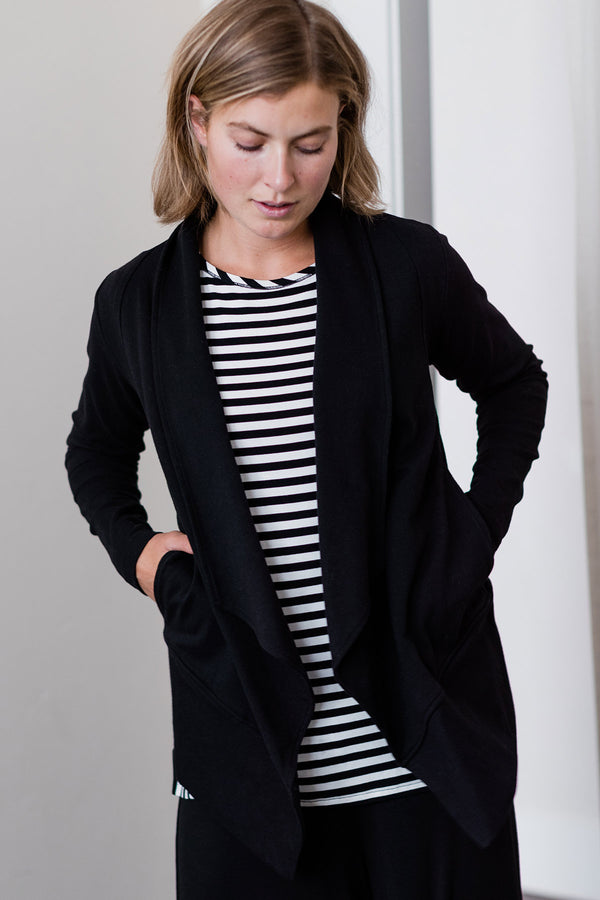 Anari Organic Cotton & Bamboo Jacket-Cardigan