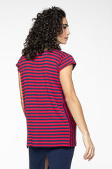 Andi Two-Way Striped Bamboo Top