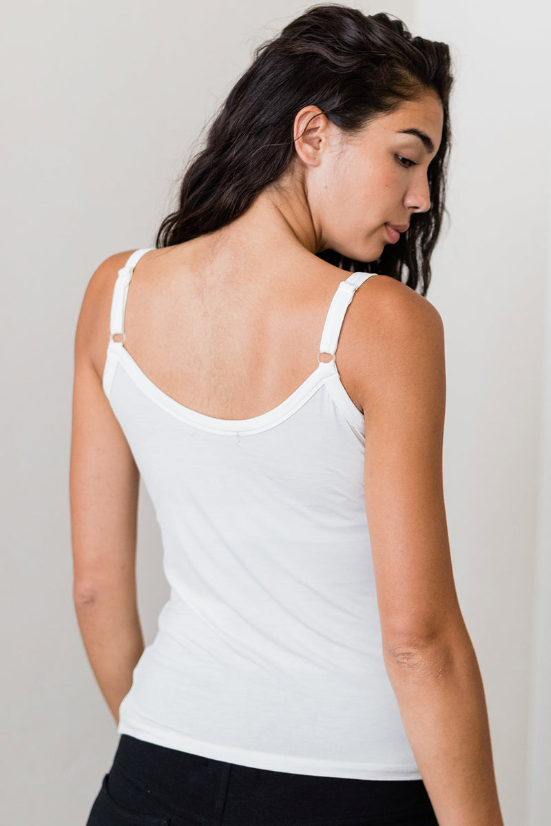 Belle Cami Camisole Bamboo Tank Top