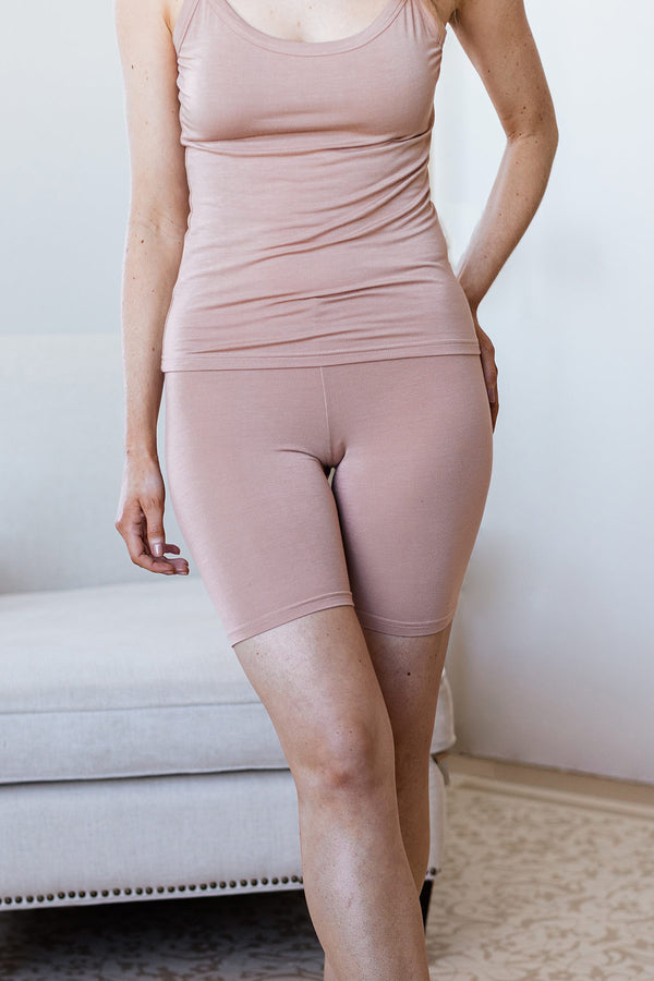 Bliss Lightweight Bamboo Slip Short
