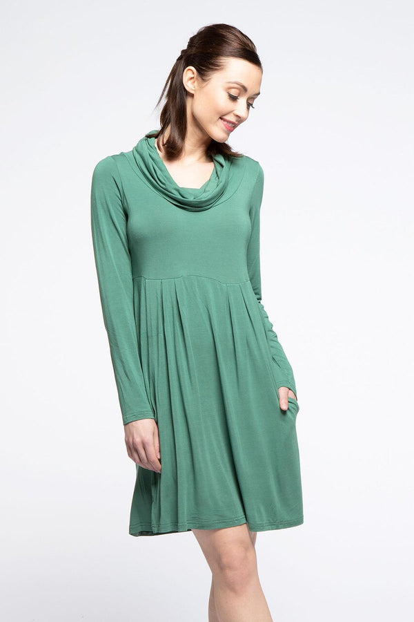 Bethany Dress -                           			Thyme