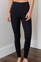 Breilyn Ultra-Stretch High-Waisted Organic Cotton & Bamboo Legging