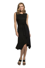 Cecilia Tie Waist Bamboo Dress