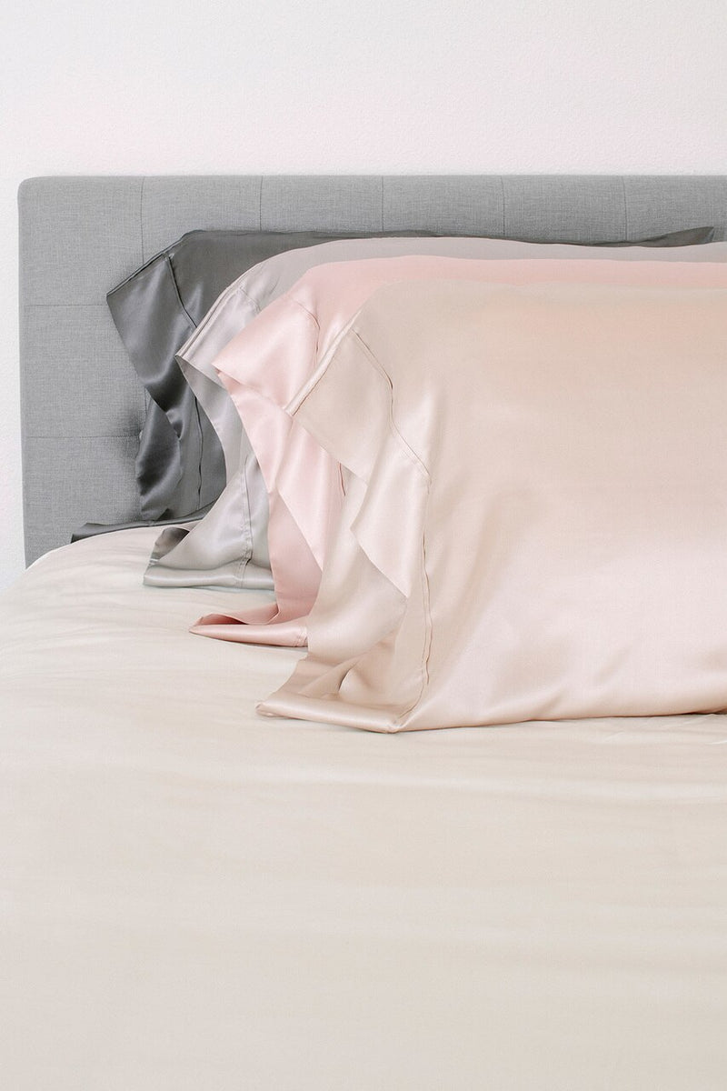 Charmeuse Silk Pillowcase Set