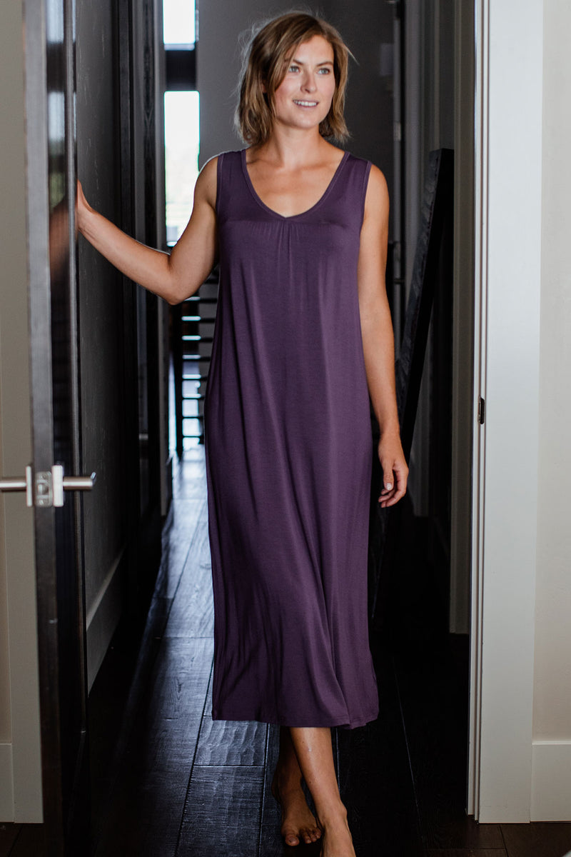 Molly Sleeveless Bamboo Nightgown