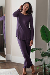Norah Long Sleeve Bamboo Pajama Set