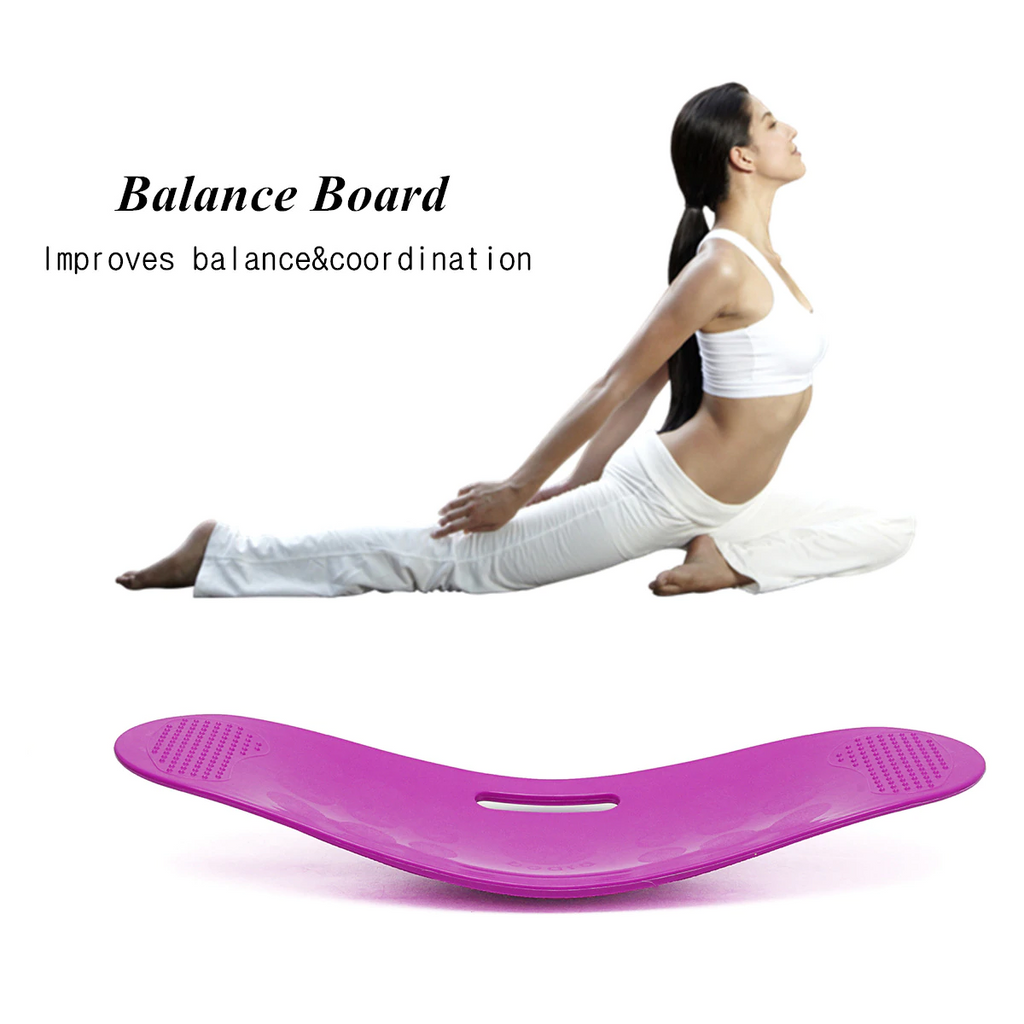 Yoga fitness balance wobble board