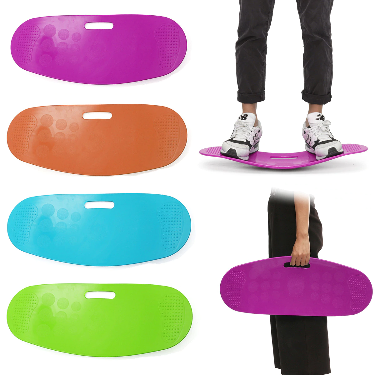Fitness Yoga Balance Board Wobble Board Rocker Board for Exercises