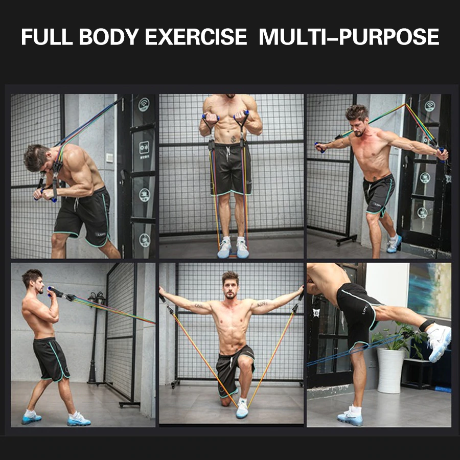 Full body exercise examples