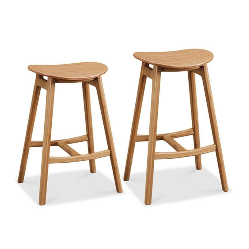 Skol Bar and Counter Height Stools  Caramelized