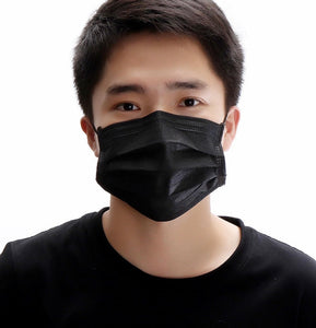 surgical black mask