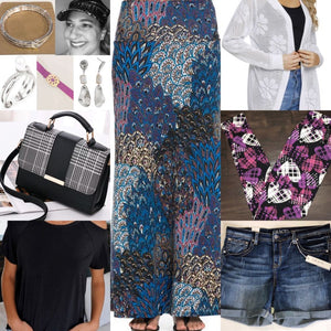 20+ Ways, How to Style a 5 Piece Fashion Collection