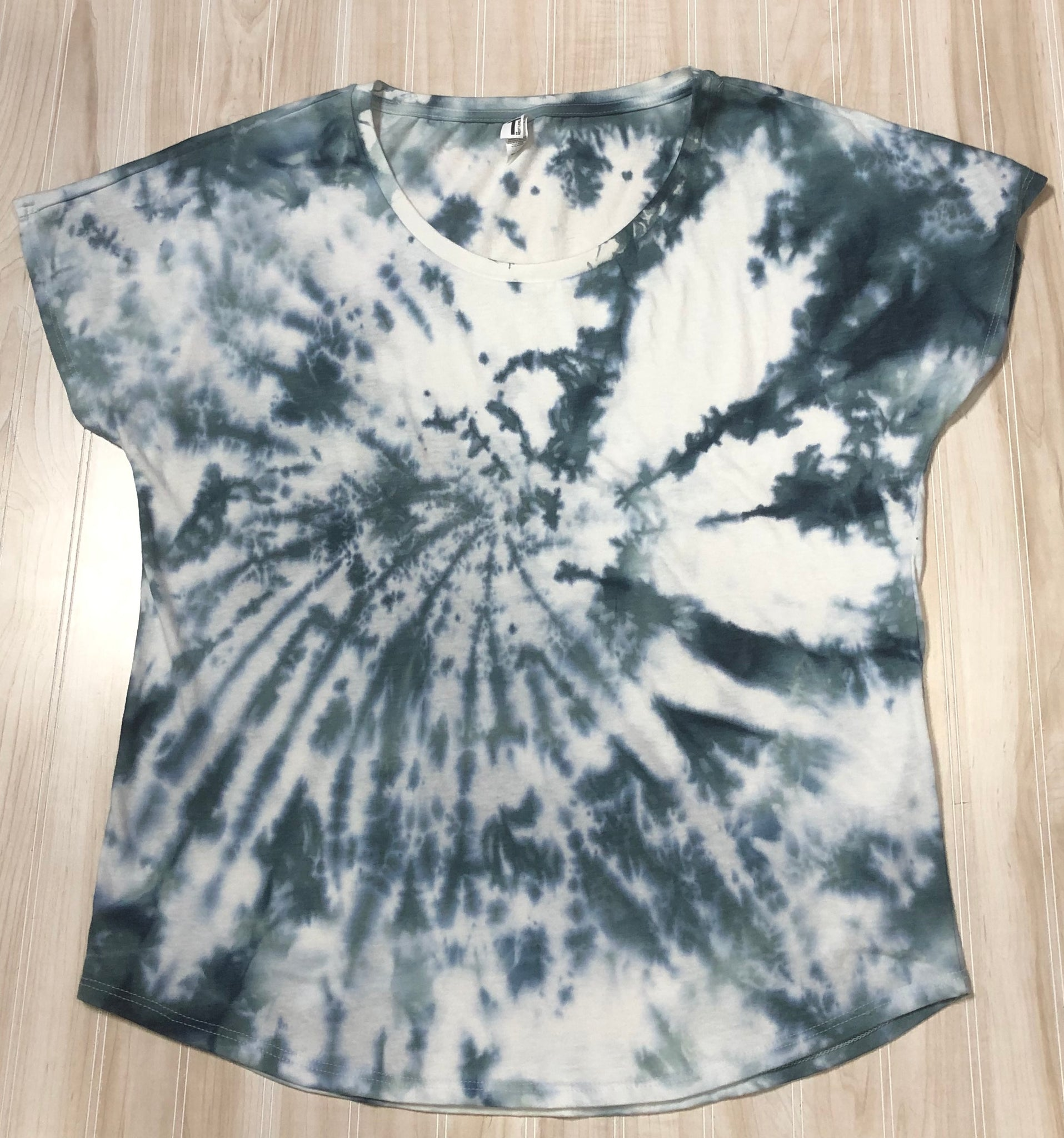Short Sleeve Tye Dye Top
