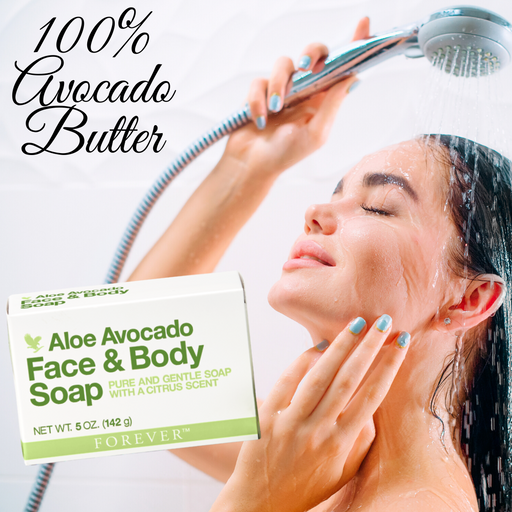 Forever- Aloe Avocado Face & Body Soap - murukali.com