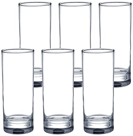 Ceramic Unbreakable Plain Water Glass /pc