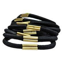 Elastic Hair Band Black /4pcs - murukali.com