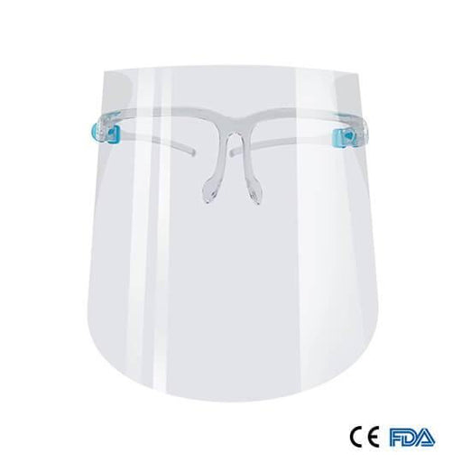 Reusable Glasses Safety Face Shield