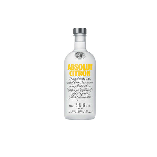 Absolut Citron Vodka /70cl - murukali.com