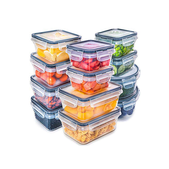 Food Storage Plastic Containers with Lids/set