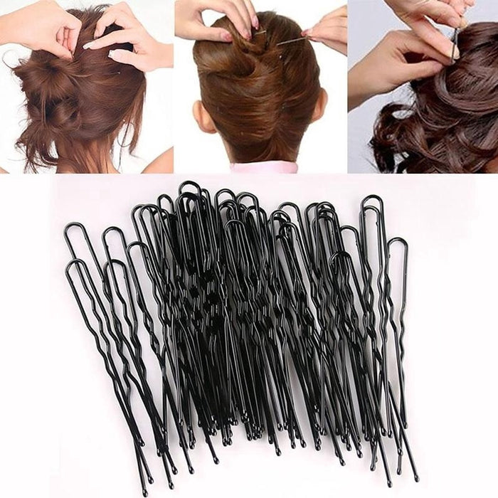 Black Hair Pins Normal size /60pcs