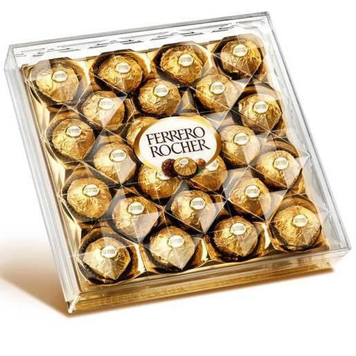 Ferrero Rocher Box Square /24pcs - murukali.com