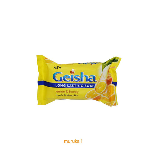 Geisha Lemon&Honey Soap - murukali.com