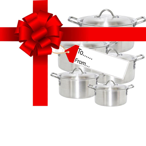 Gift-Cooking pot set 5pcs - murukali.com