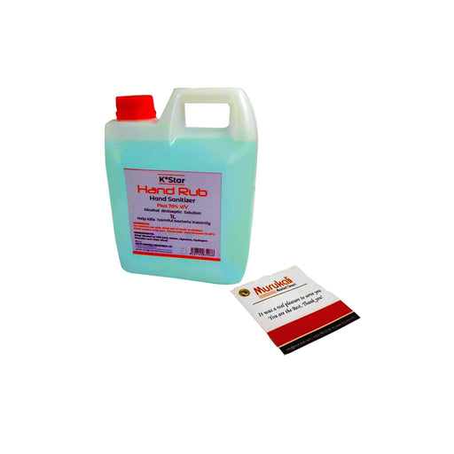 Hand Sanitizer Alcohol Antiseseptic Solution /1L - murukali.com