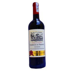 Isabelle de France Red Wine /75cl - murukali.com