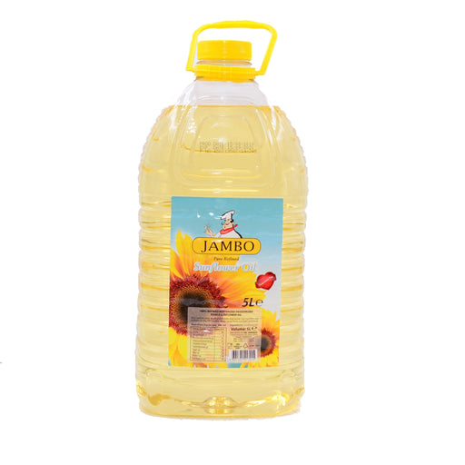 Jambo Sunflower Oil /5L - murukali.com