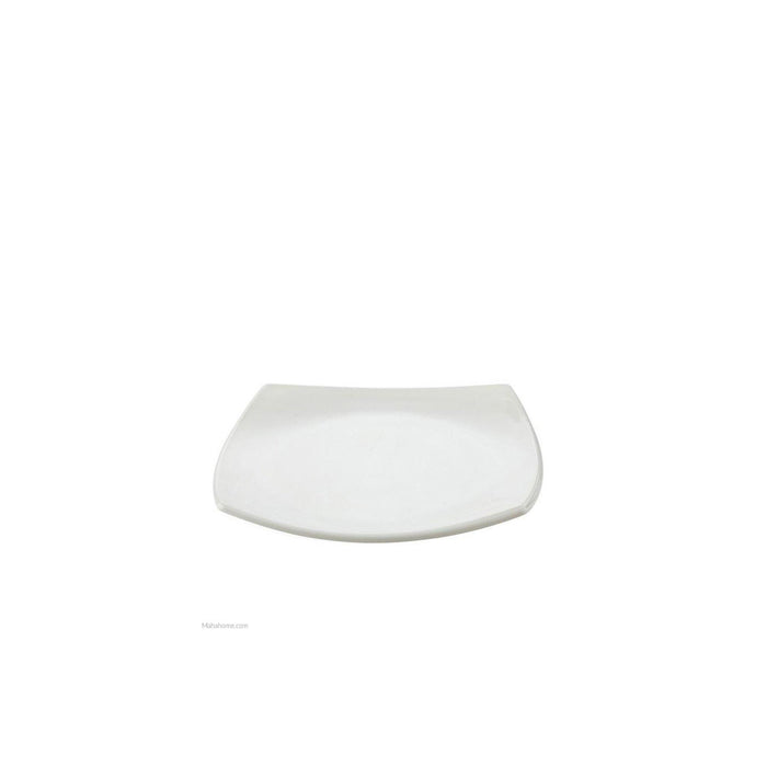 Luminarc Square Side white Plate /pc - murukali.com